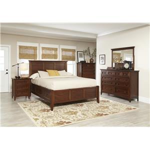 Avalon Furniture Beacon St Bedroom Group