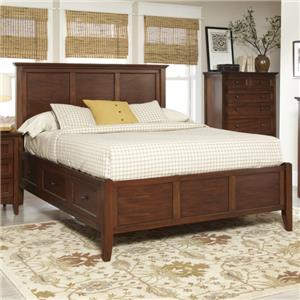Avalon Furniture Beacon St Queen Panel Bed