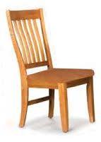 Cochrane Classic Thresher Side Chair - Wood Seat