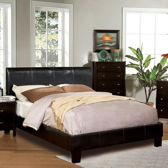 Furniture of America / Import Direct WINN PARK Queen Platform Bed - Item Number: CM7008