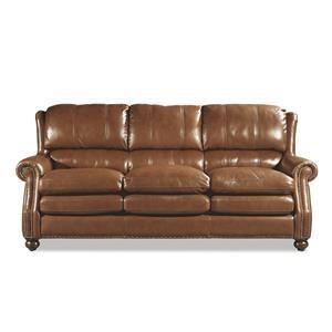Craftmaster Downey Leather Sofa