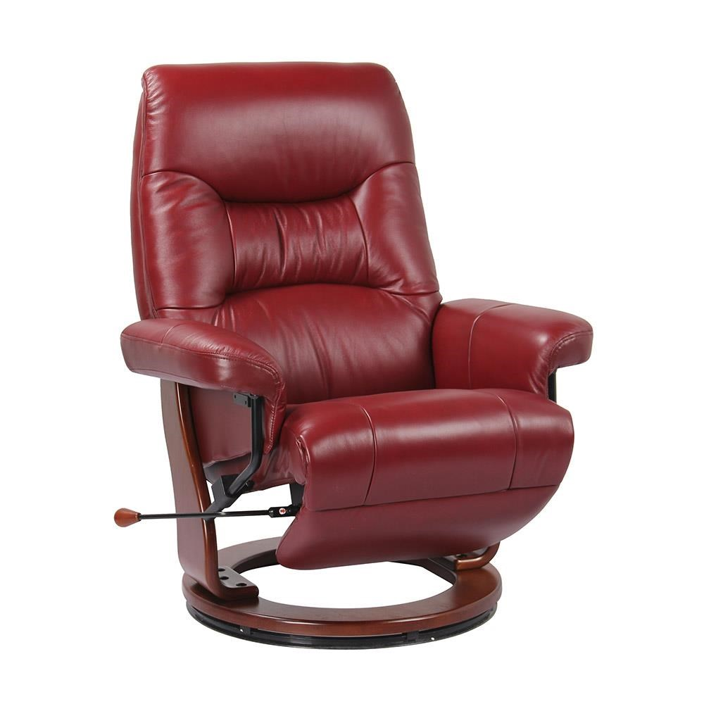 International Furniture Kitchener Artage International Lanni Recliner With Flip Footrest Stoney