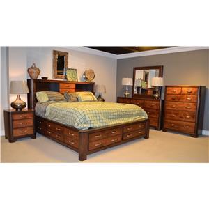 Wayside Custom Furniture DVW2900 Bedroom Group
