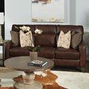 Southern Motion Mt. Vernon Power Headrest Sofa with Pillows - Item Number: 686-62P-970-22