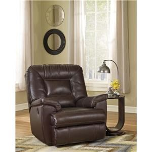 Signature Design by Ashley Rayden Coffee Bonded Leather
