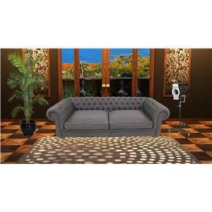 Reeds Trading Company Royce Tufted Sofa