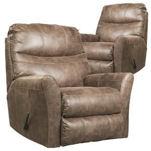 RG Buy One Get One Recliners Tommy Rocker Recliner with Flared Arms
