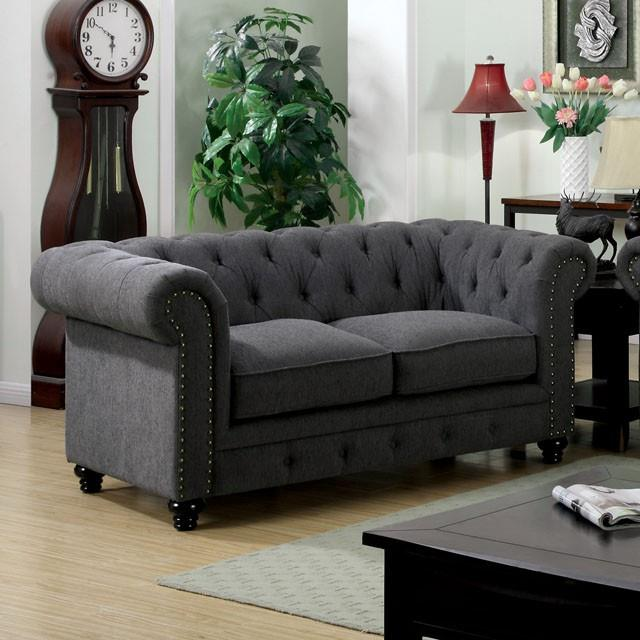 Furniture of America / Import Direct Stanford Love Seat - Item Number: CM6269LV