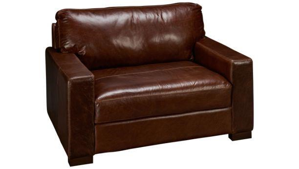 Soft Line 4522 4522-49 Leather Chair & 1/2