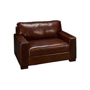 Soft Line 4522 Leather Chair & 1/2
