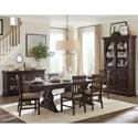 Magnussen Home St. Claire 5 Pc Dining Set - Item Number: D4210-20+4x62