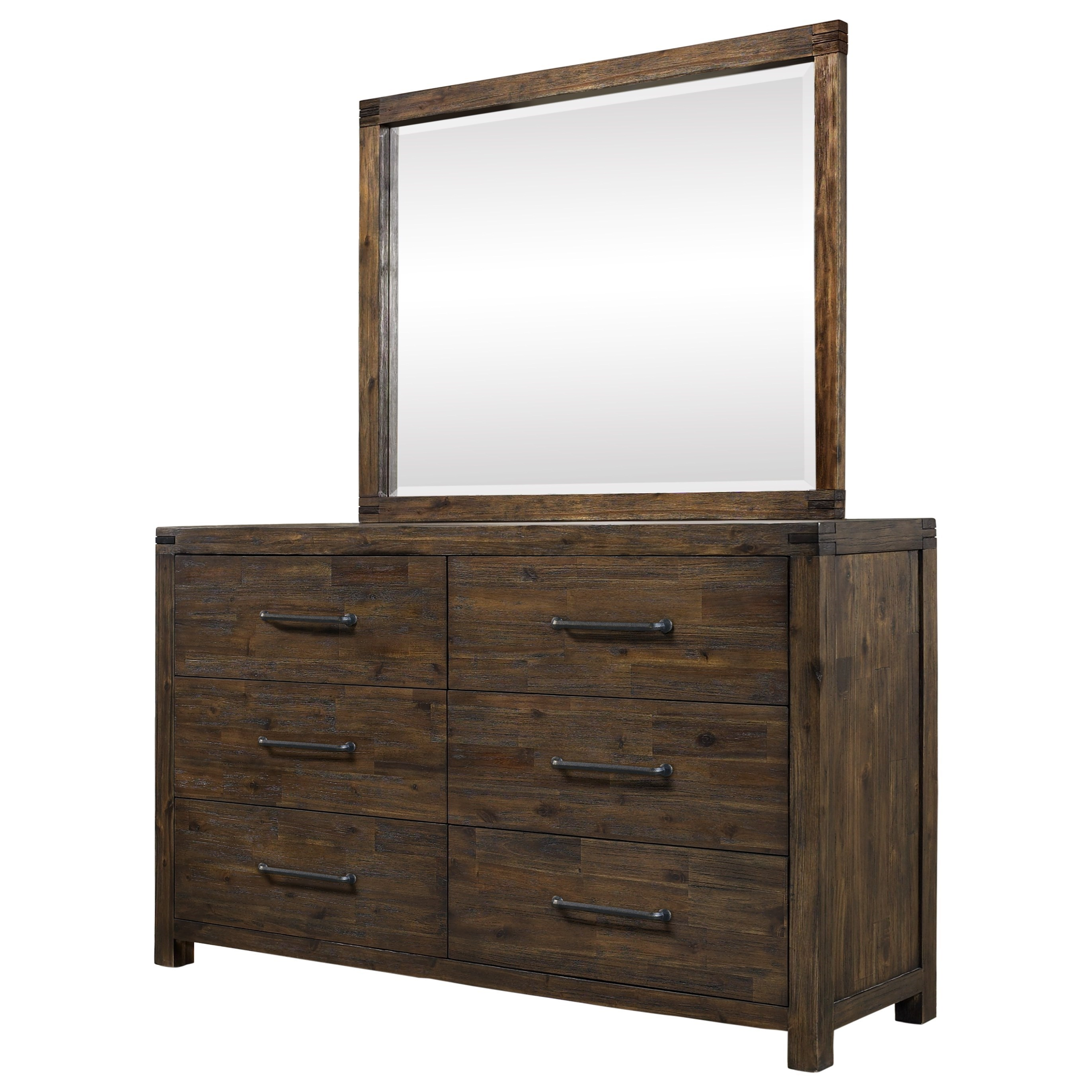 Hillsdale Gannon Dresser and Mirror Set - Item Number: 2078-786+722