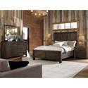 Hillsdale Gannon Dresser and Mirror Set