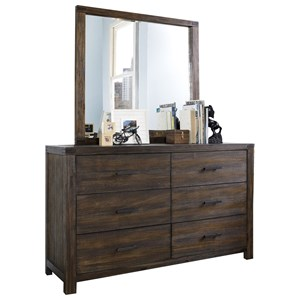 Hillsdale St. Croix Youth Dresser and Mirror Set