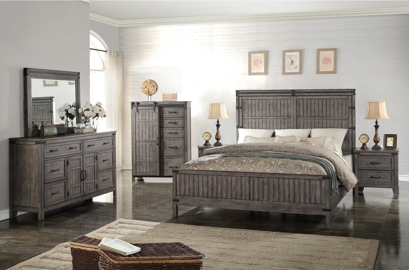 Vendor 1356 Storehouse Collection Queen Bedroom Group