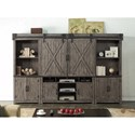 Legends Furniture Storehouse Collection Entertainment Wall Unit - Item Number: ZSTR-1001