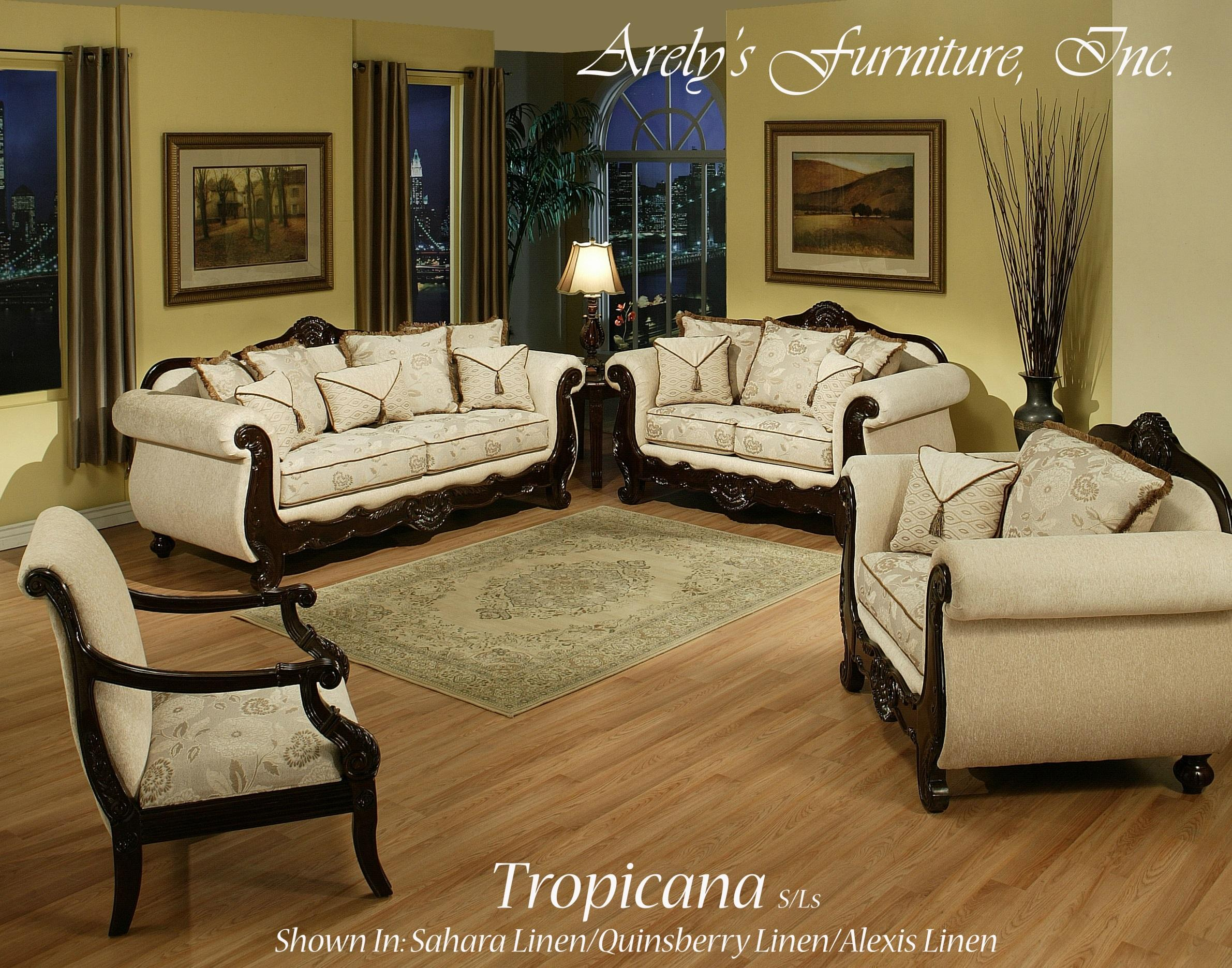 Del Sol Exclusive Tropicana By Arely's Furniture Tropicana Love Seat - Item Number: Tropicana LS