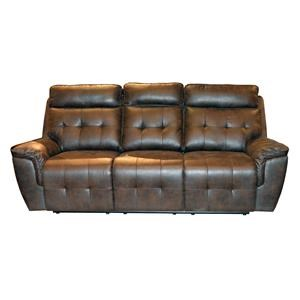Lifestyle U60113 Motion Sofa with Power Head Rests