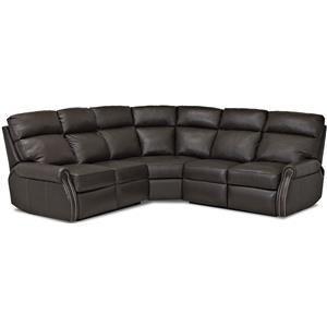 Comfort Design Jackie II Reclining Sectional Sofa