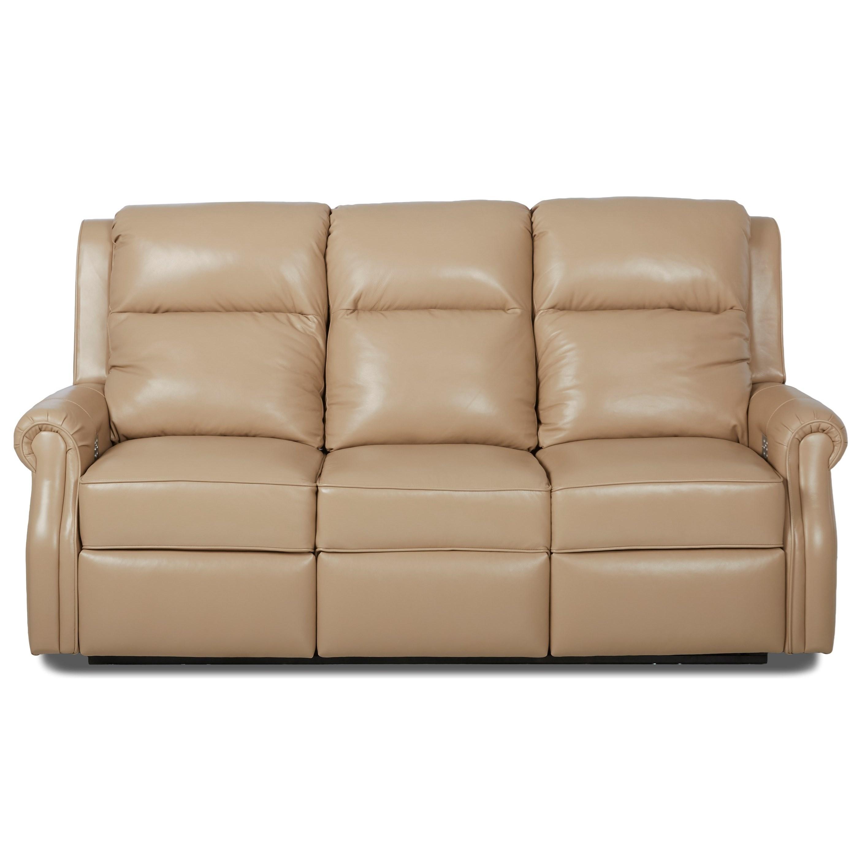 Comfort Design Jamestown Power Reclining Sofa With Power