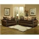 Comfort Industries Austin  Living Room set - Item Number: AUS101