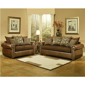 Comfort Industries Austin  Classic Styled Living Room Group