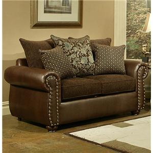 Comfort Industries Austin  Loveseat