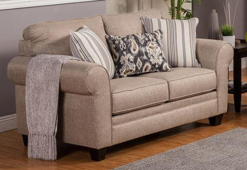 Comfort Industries Craig Stationary Loveseat - Item Number: Craig T