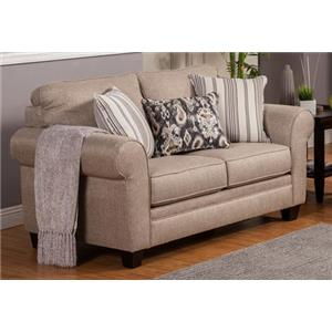 Comfort Industries Craig Stationary Loveseat