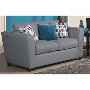 Comfort Industries Energy P Stationary Loveseat
