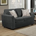 Comfort Industries Liberty Stationary Loveseat - Item Number: LIB100Love-Sterling