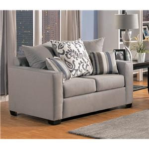 Comfort Industries Mist Grey Mist Grey Love Seat