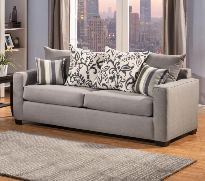 Comfort Industries Mist Grey Mist Grey Sofa - Item Number: MISTGREY-SOFA
