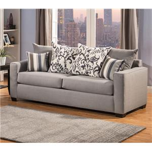 Comfort Industries Mist Grey Mist Grey Sofa