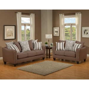 Comfort Industries Splendid Living Room Group