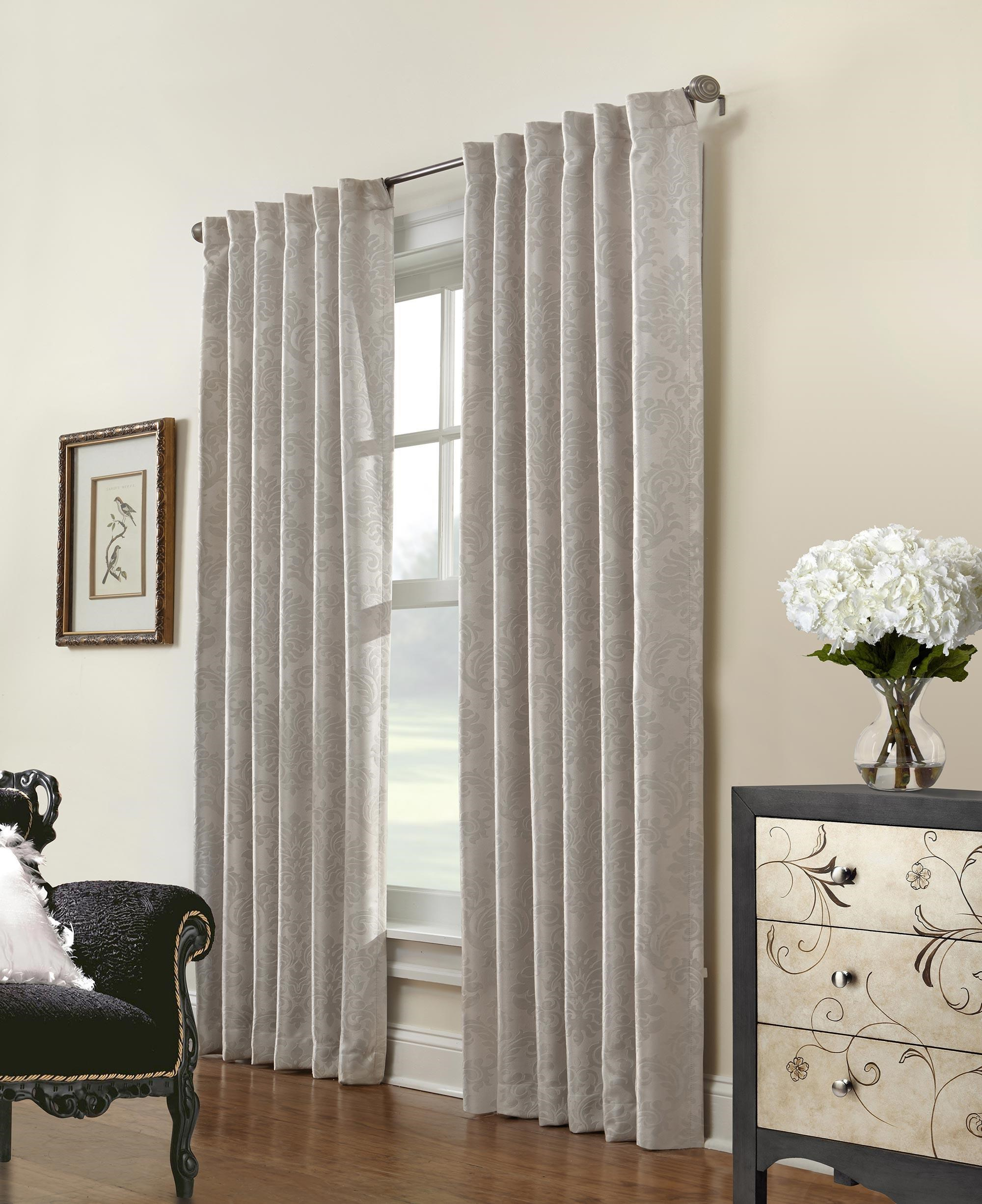Commonwealth Home Fashions Belgique Woven Fabric Window Panel - Item Number: 71146-142-008-95
