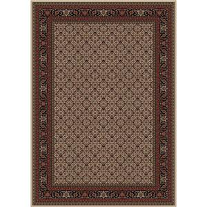 Concord Global Trading Inc. Presidential Red-Ivory 6.7 x 9.6 Area Rug : Red-Ivory