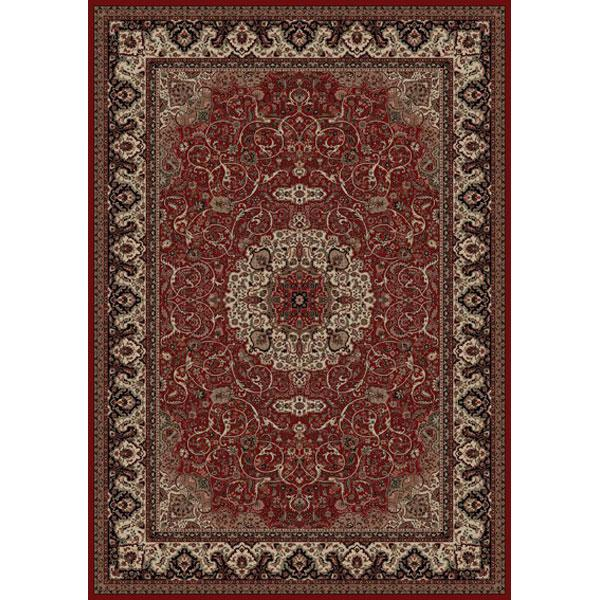 Concord Global Trading Inc. Presidential Red-Ivory 7.10 x 11.2 Area Rug : Red-Ivory - Item Number: 965001553