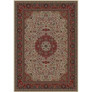 Concord Global Trading Inc. Presidential 5.3 x 7.7 Area Rug : ivory