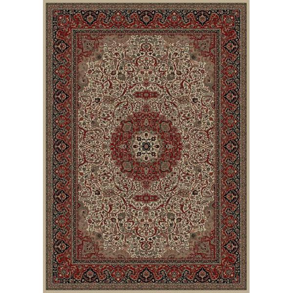 Concord Global Trading Inc. Presidential 7.10 x 11.2 Area Rug : Ivory - Item Number: 965002858