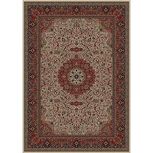 Concord Global Trading Inc. Presidential 7.10 x 11.2 Area Rug : Ivory