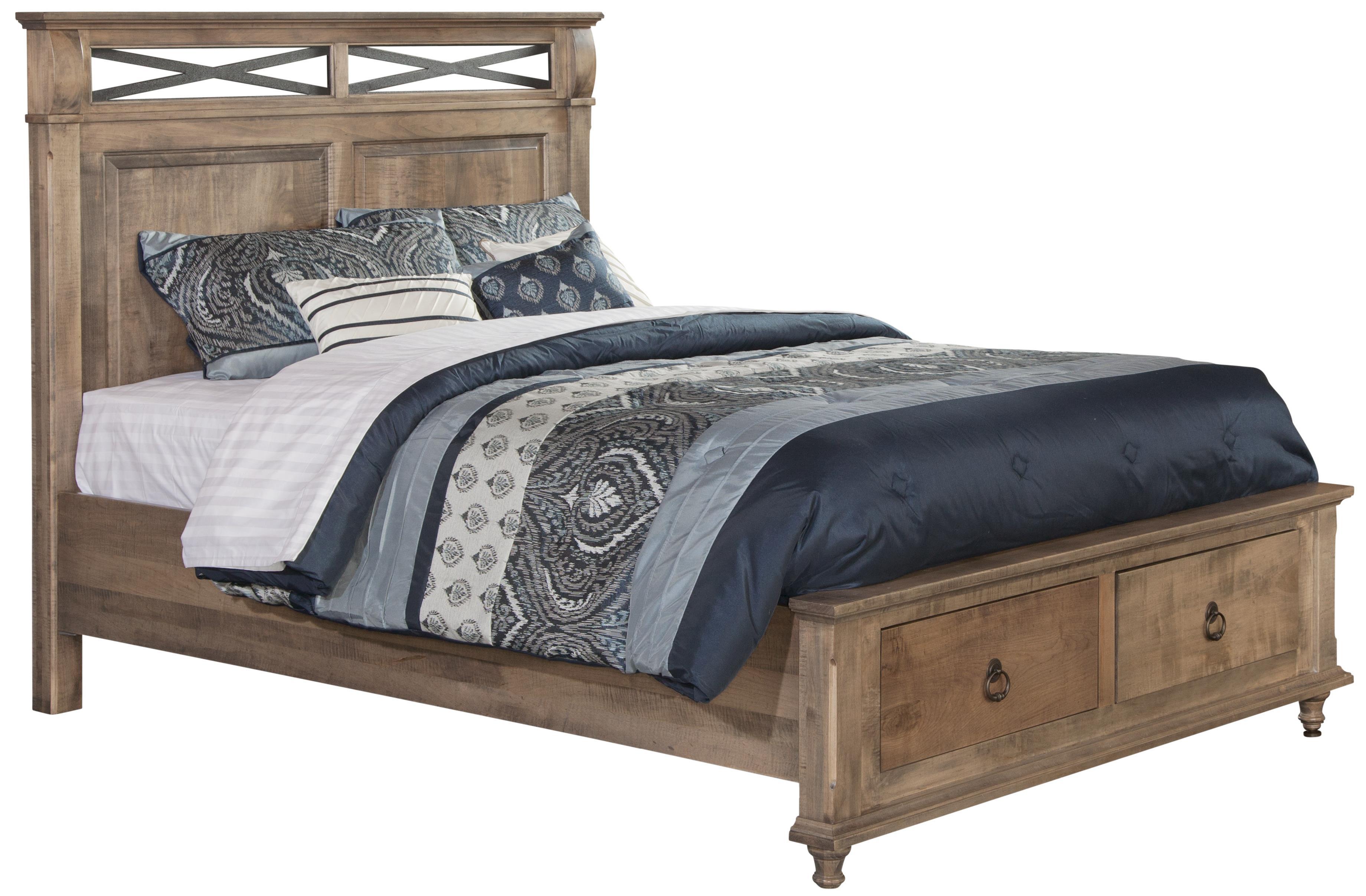 Conrad Grebel Madison King Storage Bed - Item Number: XD2541HB+DFB+FR