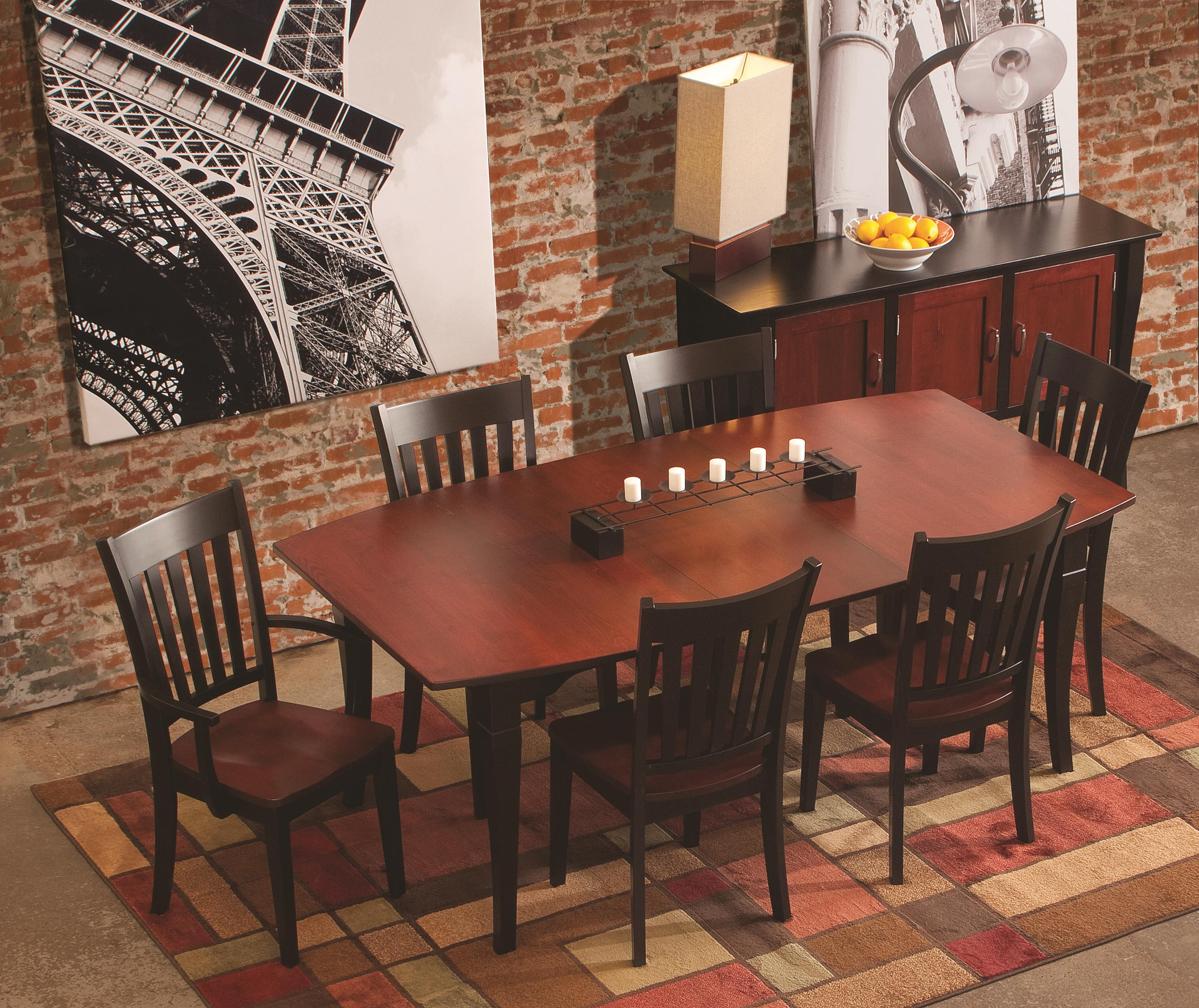 Conrad Grebel Montclair X3460 Boat Shaped Dining Table Furniture And Appliancemart Dining