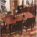 Conrad Grebel Montclair  Dining Table - Item Number: X3460