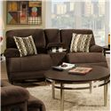 Corinthian 0588 Recline Console Loveseat - Item Number: M588-40-Made-Out