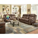 Corinthian 090301 Power Reclining Living Room Group - Item Number: FGC90301 Made-Out
