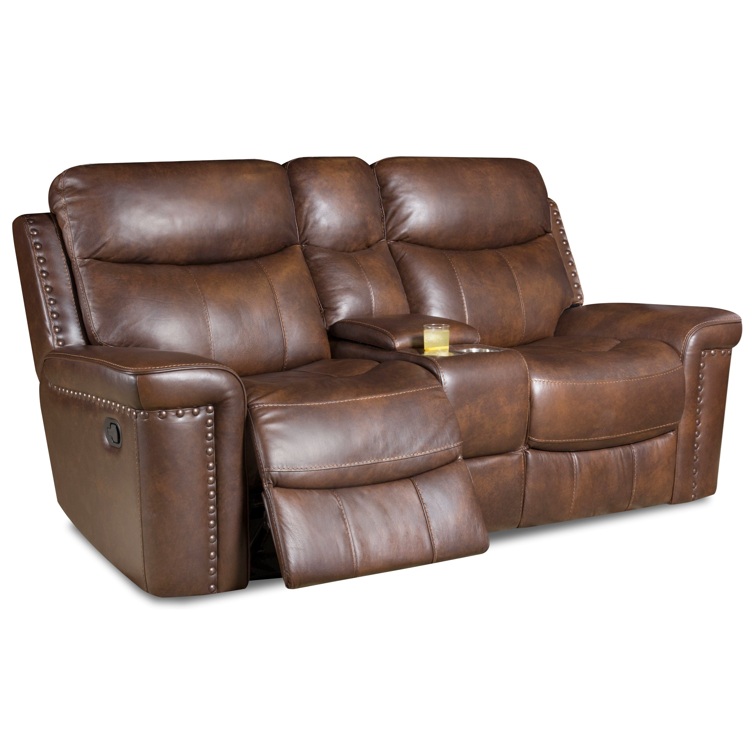 PWR Reclining Loveseat w/ PWR Headrest
