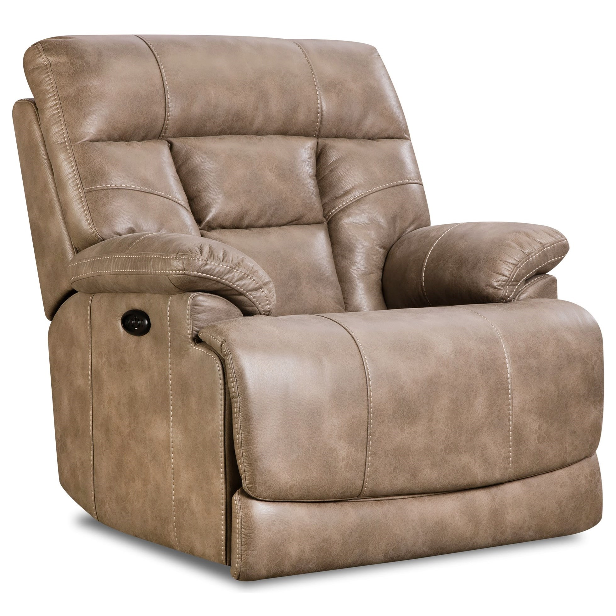 102 Power Headrest Recliner by Corinthian at Story & Lee Furniture