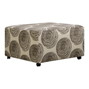 Corinthian 16B0 Cocktail Ottoman for Sectional with Casters