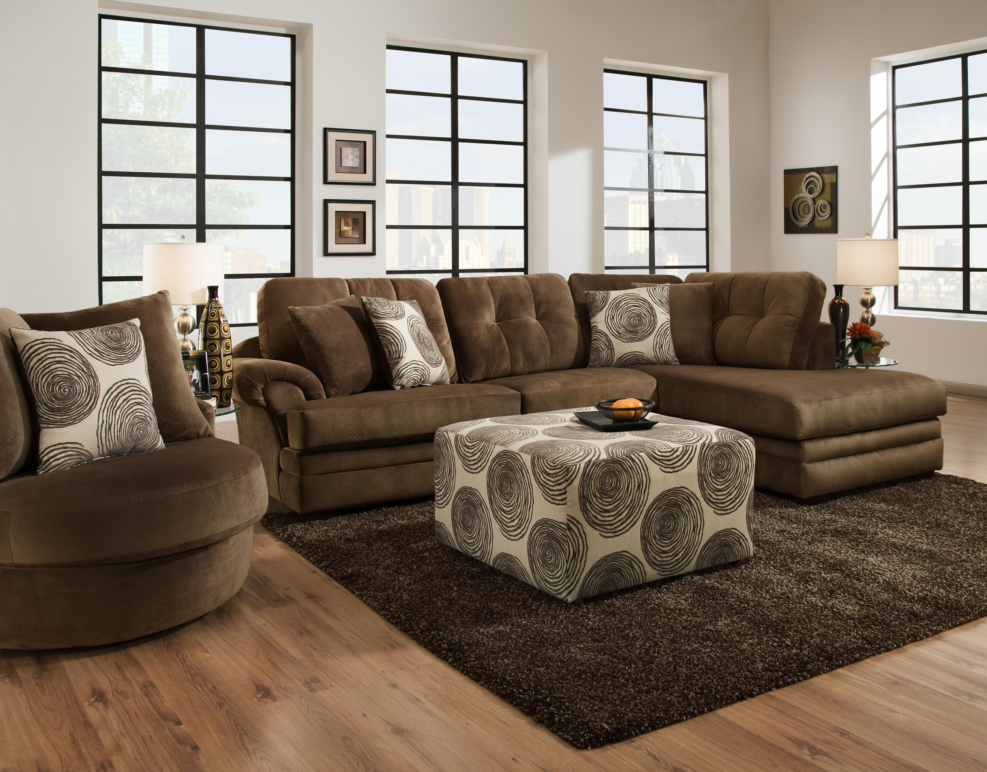 16C0 Stationary Living Room Group by Corinthian at Story & Lee Furniture